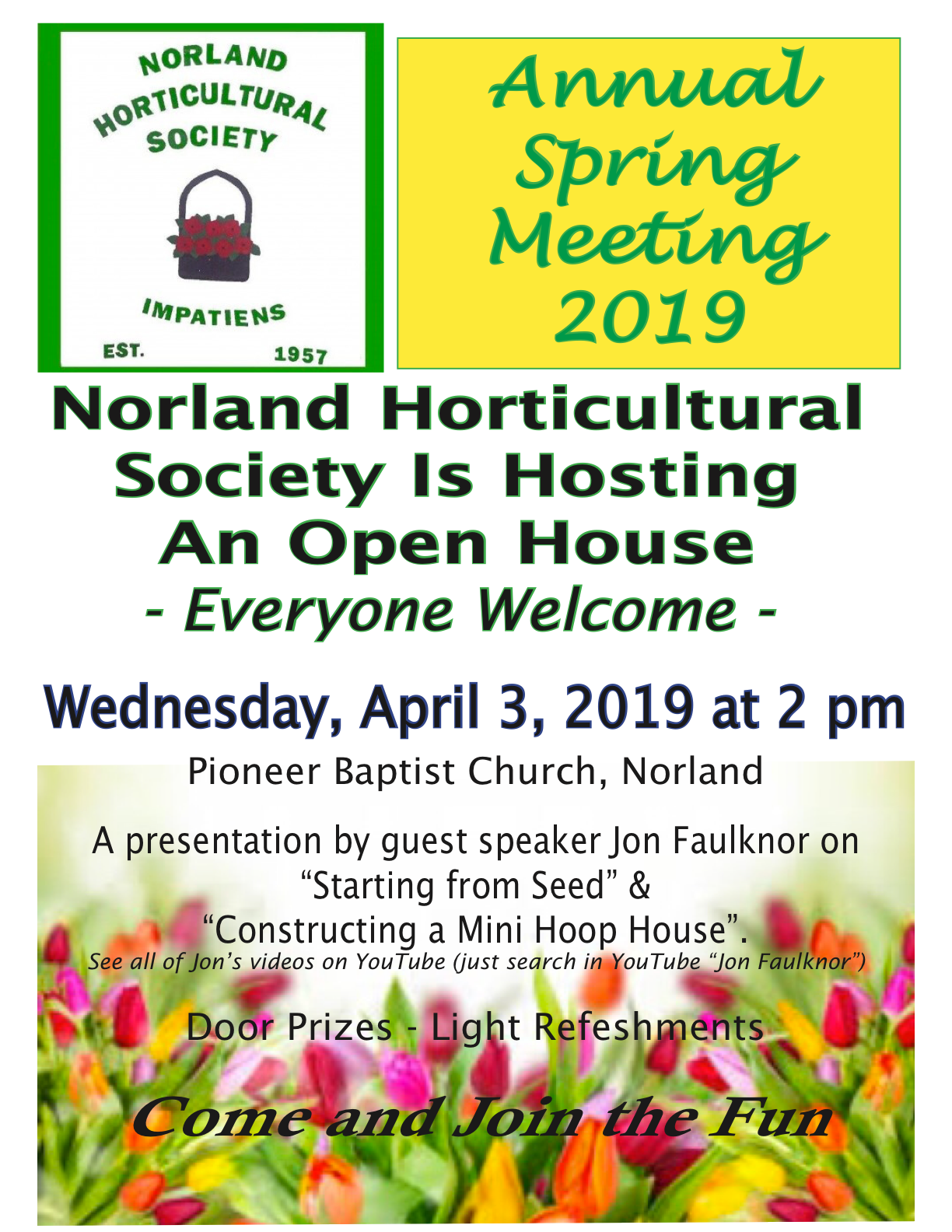 Spring Open House Sara From Sincerly Sara D: Norland Horticultural Society
